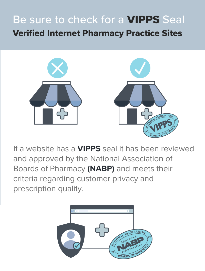 Be sure to check for a VIPPS seal