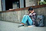 anxious girl